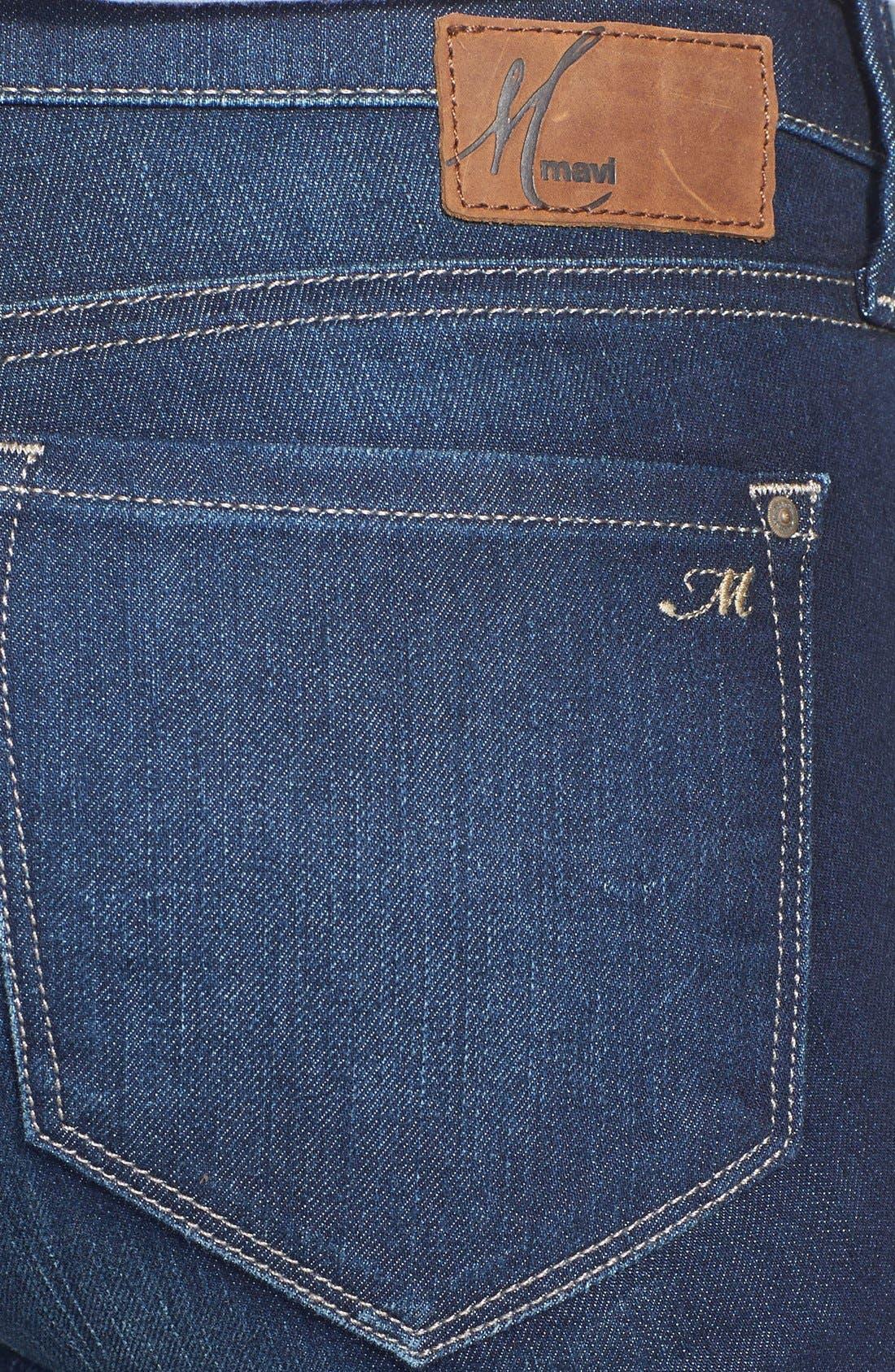 Alternate Image 3  - Mavi Jeans 'Adriana' Skinny Jeans (Deep Nolita)