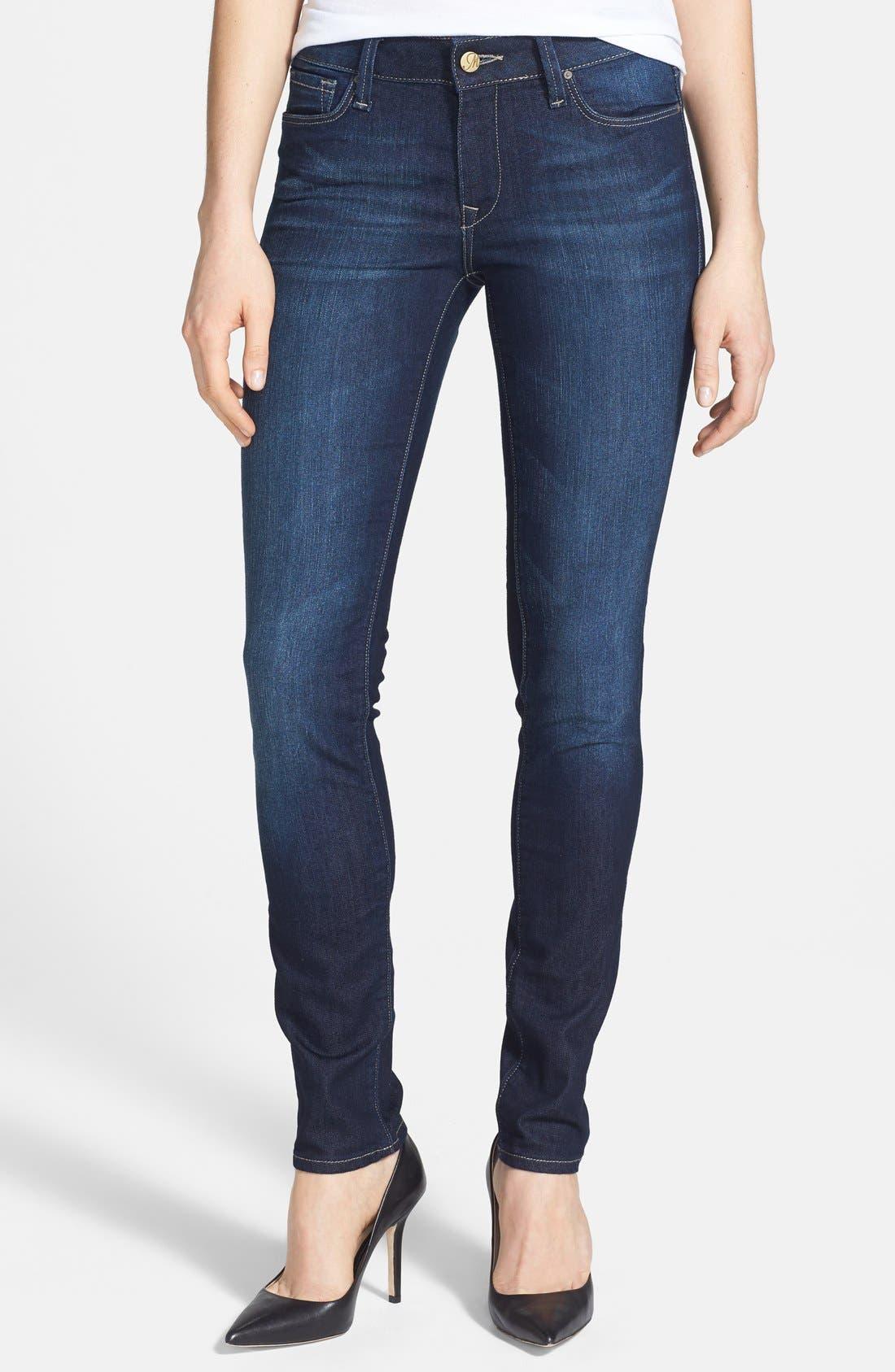 Main Image - Mavi Jeans 'Adriana' Skinny Jeans (Deep Nolita)
