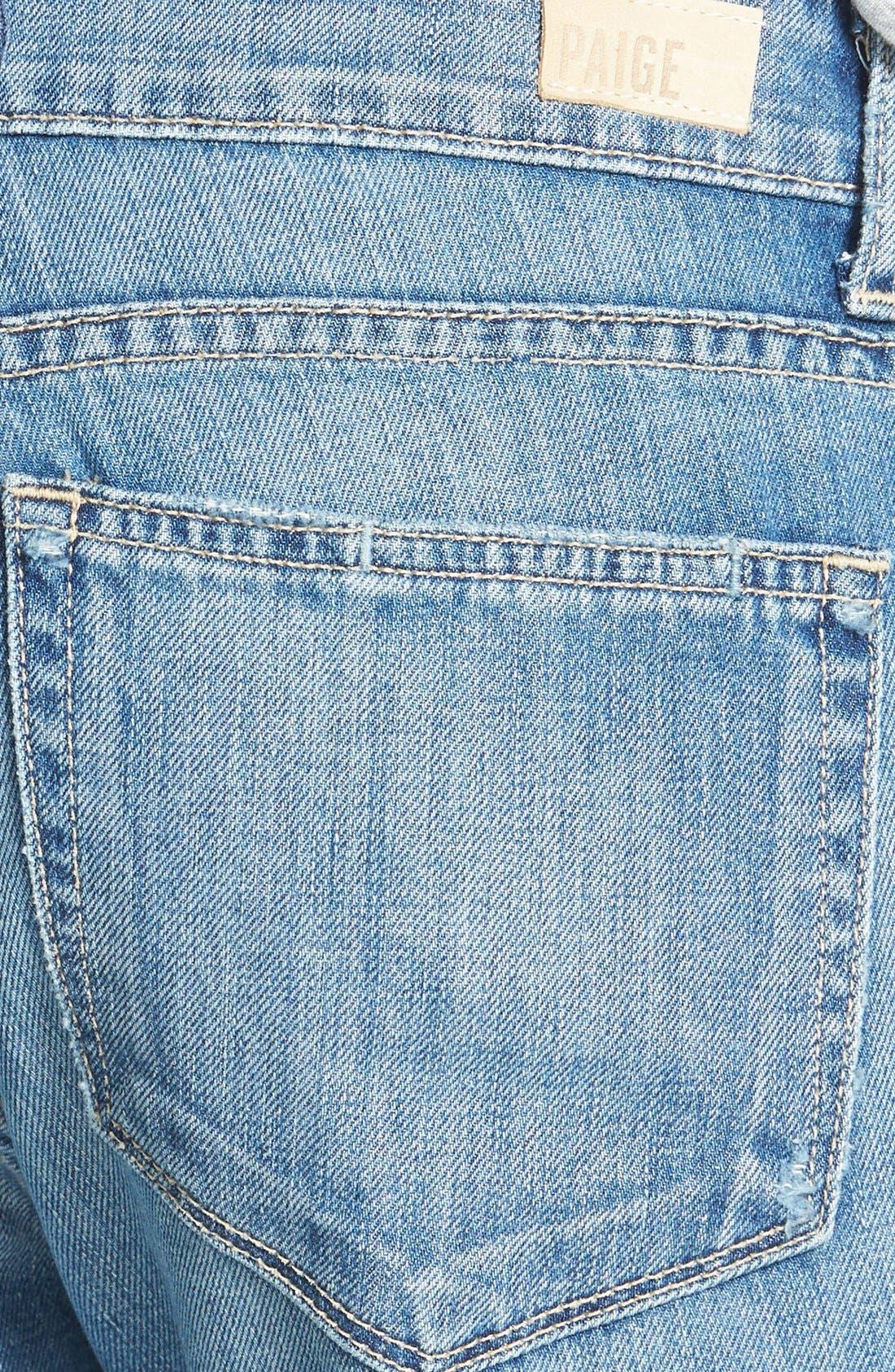 Alternate Image 3  - Paige Denim 'Jimmy Jimmy' Destroyed Boyfriend Jeans (Clifton)