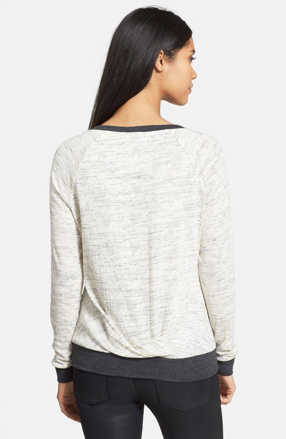 Alternate Image 2  - Three Dots Pleat Back Sweater