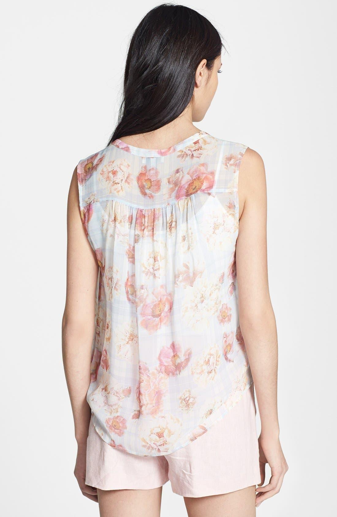 Alternate Image 2  - Joie 'Finnegan' Sleeveless Silk Blouse
