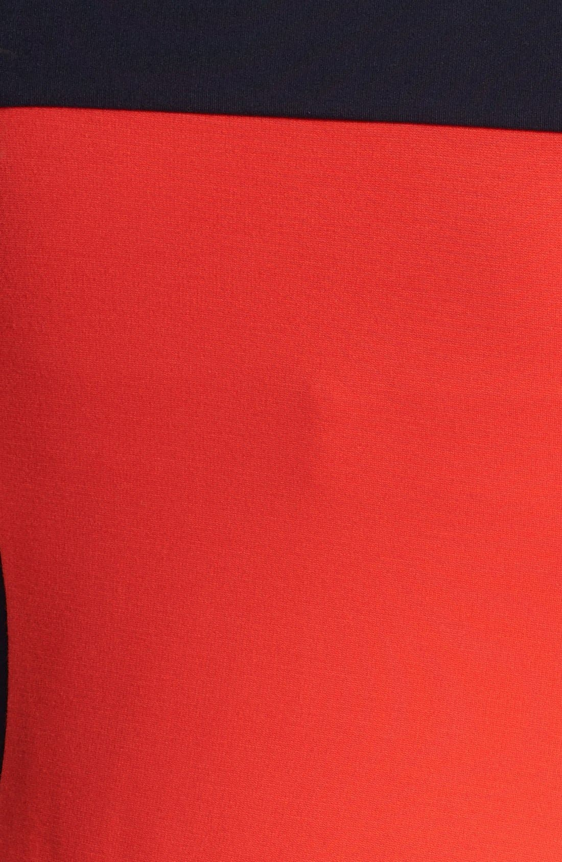 Alternate Image 3  - BOSS HUGO BOSS Colorblock Jersey Dress