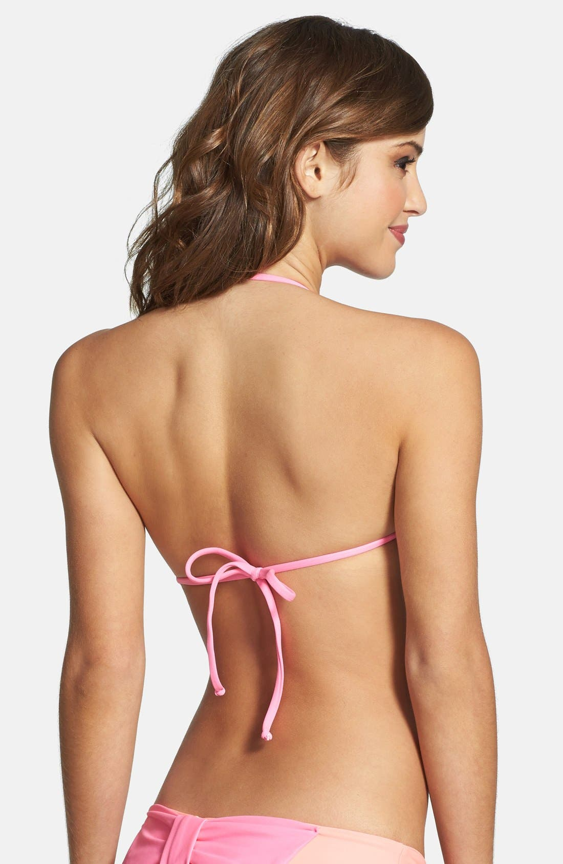 Alternate Image 2  - Lolli Swim 'Winner Winner' Bow Bikini Top