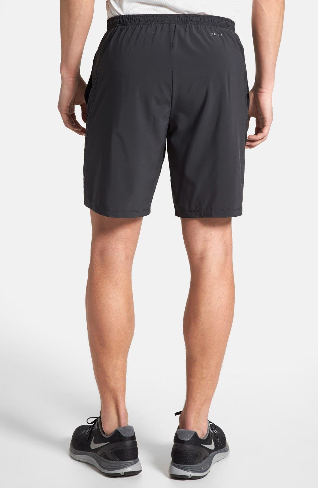 Alternate Image 2  - Nike Dri-FIT Woven Running Shorts