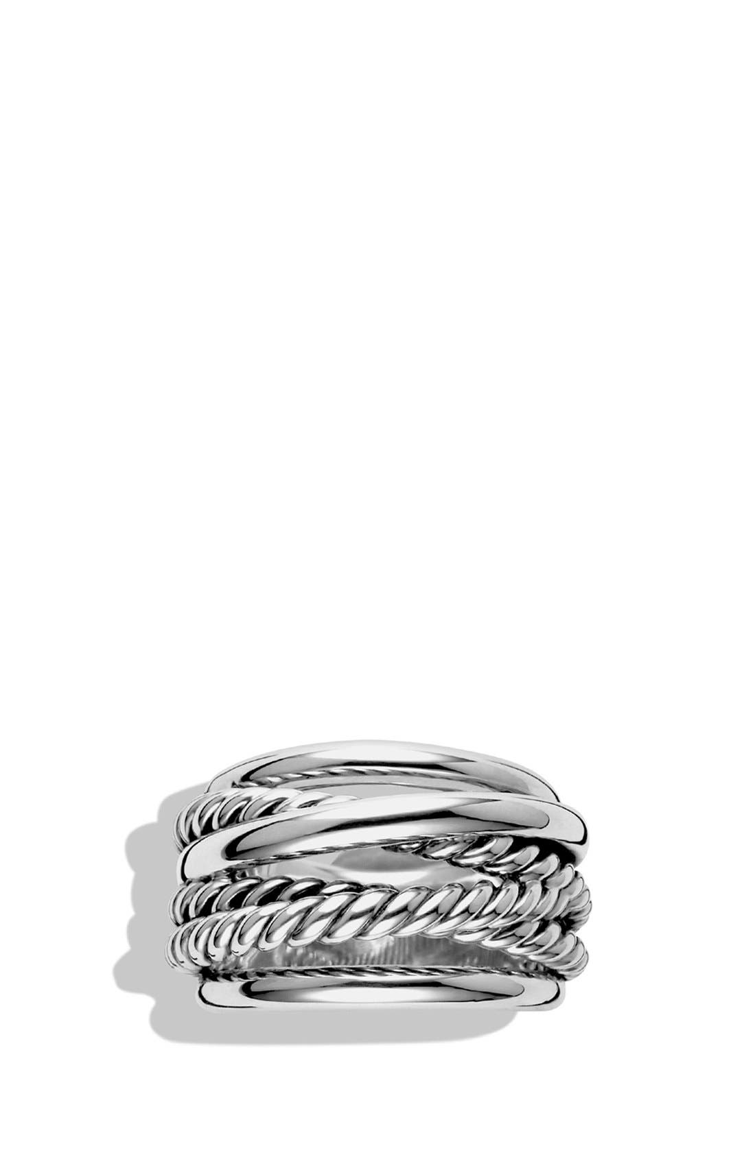 Alternate Image 4  - David Yurman 'Crossover' Narrow Ring