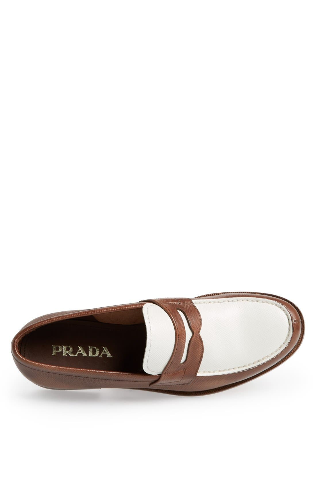 Alternate Image 3  - Prada Saffiano Penny Loafer