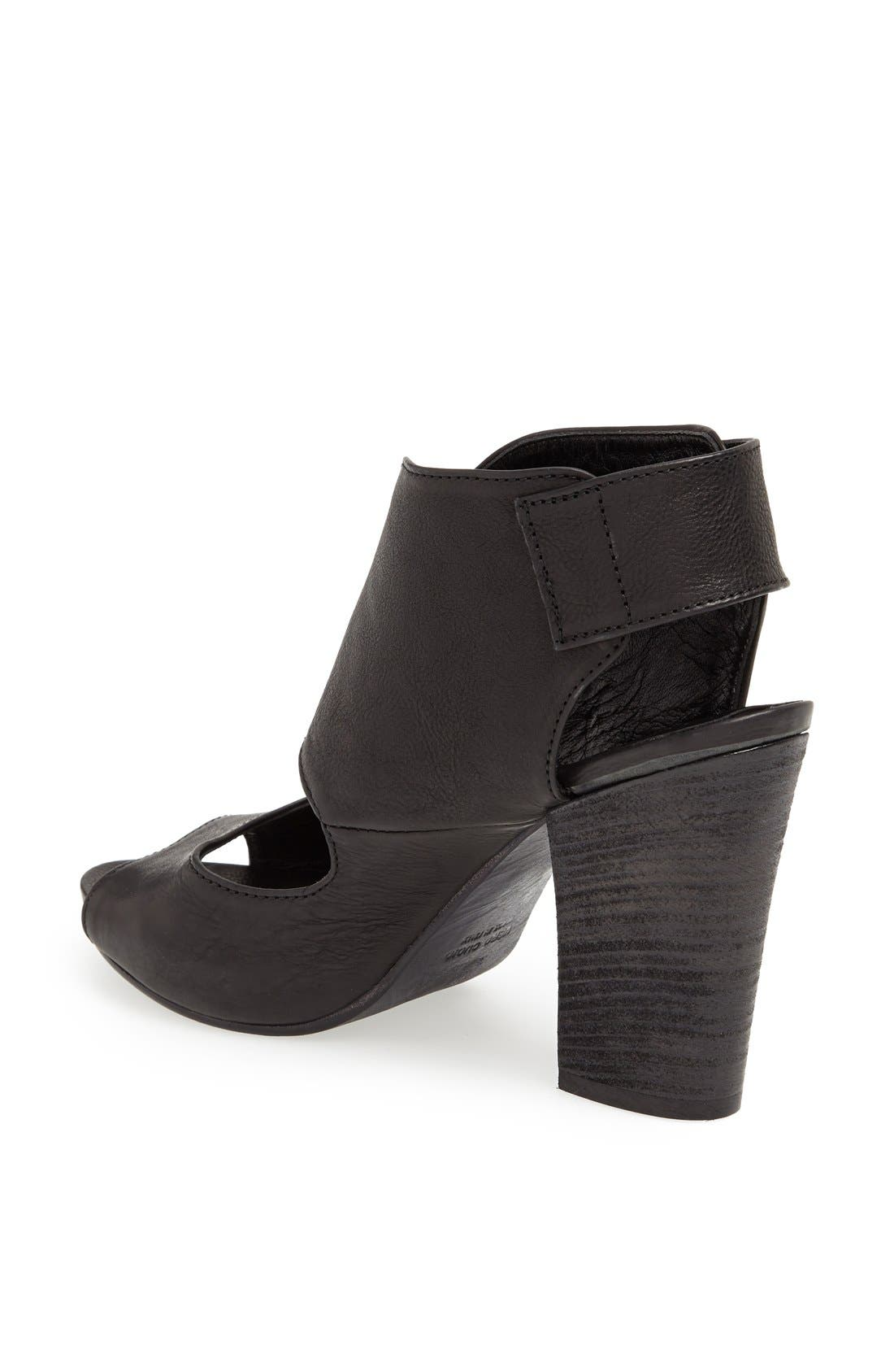 Alternate Image 2  - Latitude Femme Stacked Heel Leather Sandal