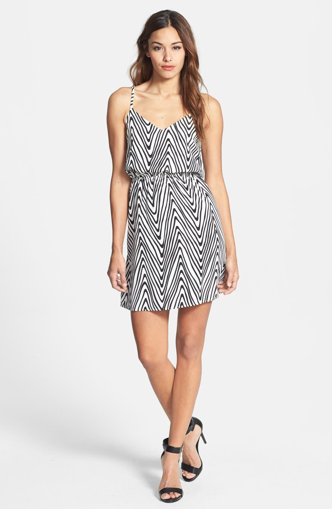 Alternate Image 1 Selected - Dex Zigzag Print Dress