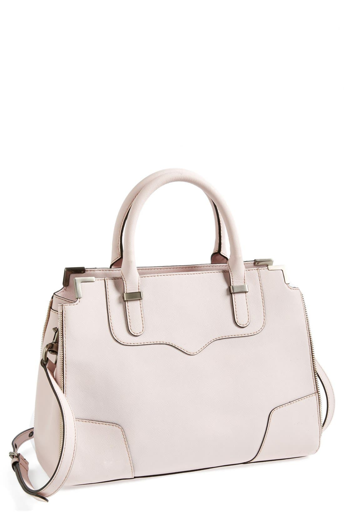 Alternate Image 1 Selected - Rebecca Minkoff 'Amourous' Leather Satchel