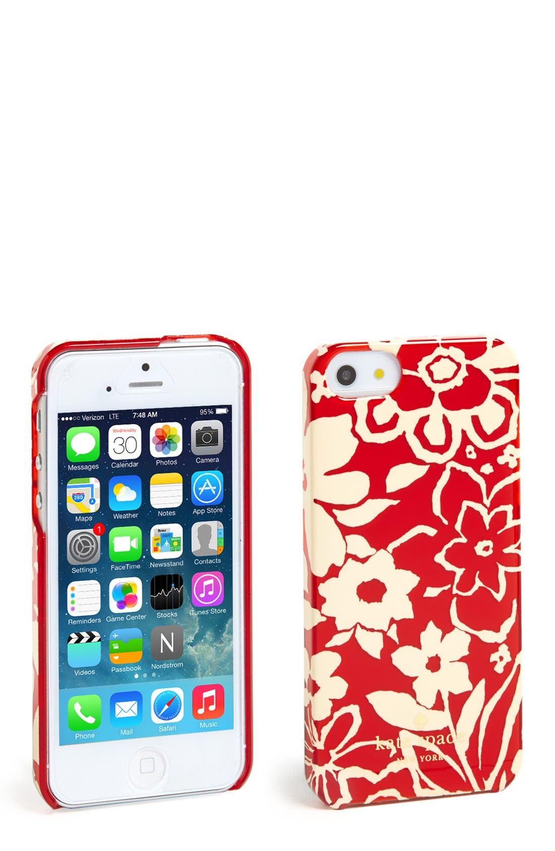 Alternate Image 1 Selected - kate spade new york 'monaco floral' iPhone 5 & 5s case