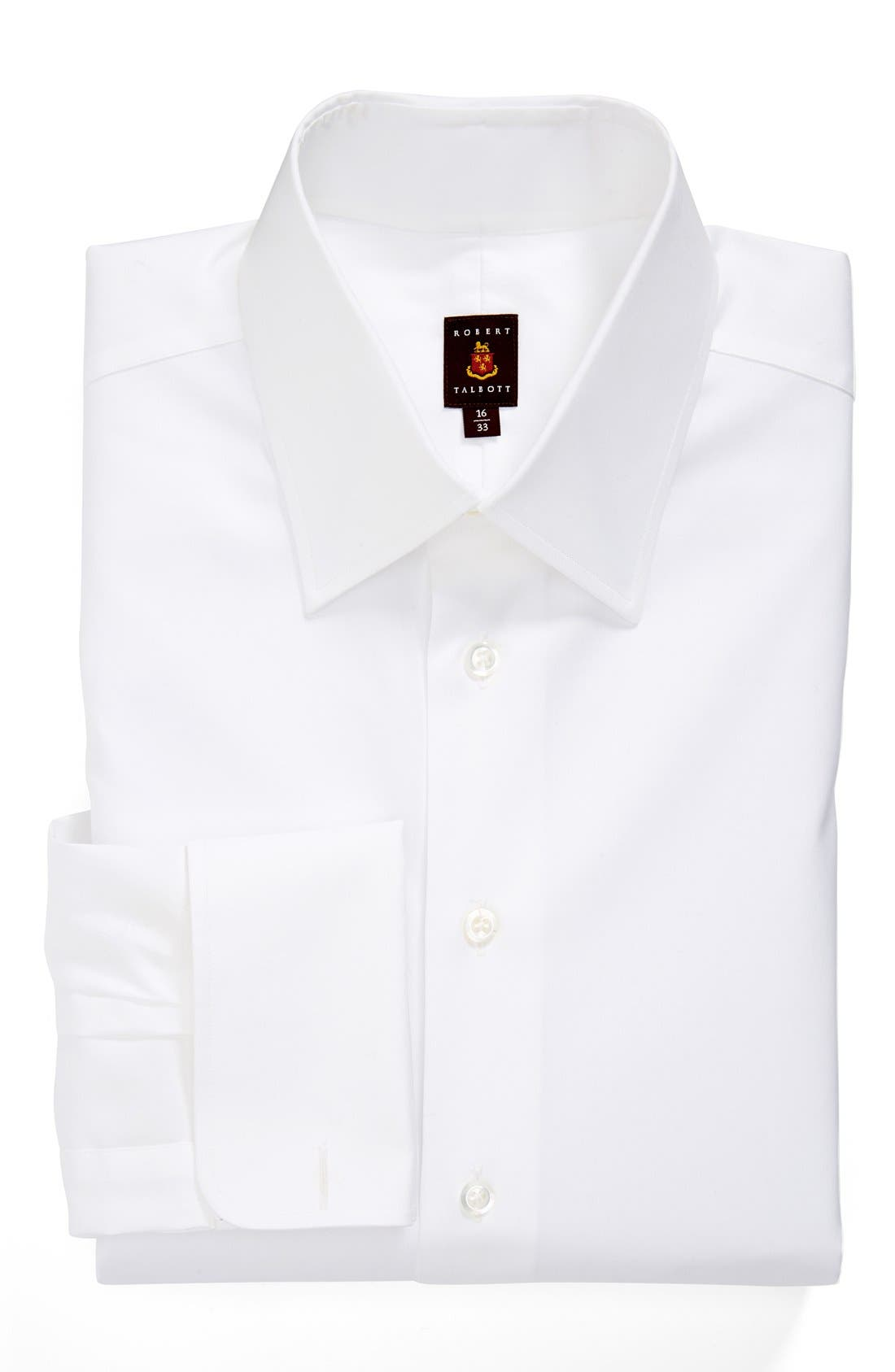 Alternate Image 1 Selected - Robert Talbott Classic Fit Solid Dress Shirt
