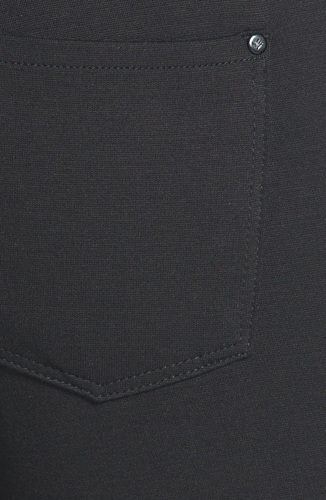 Alternate Image 3  - !iT 'Lauren' Skinny Ponte Pants