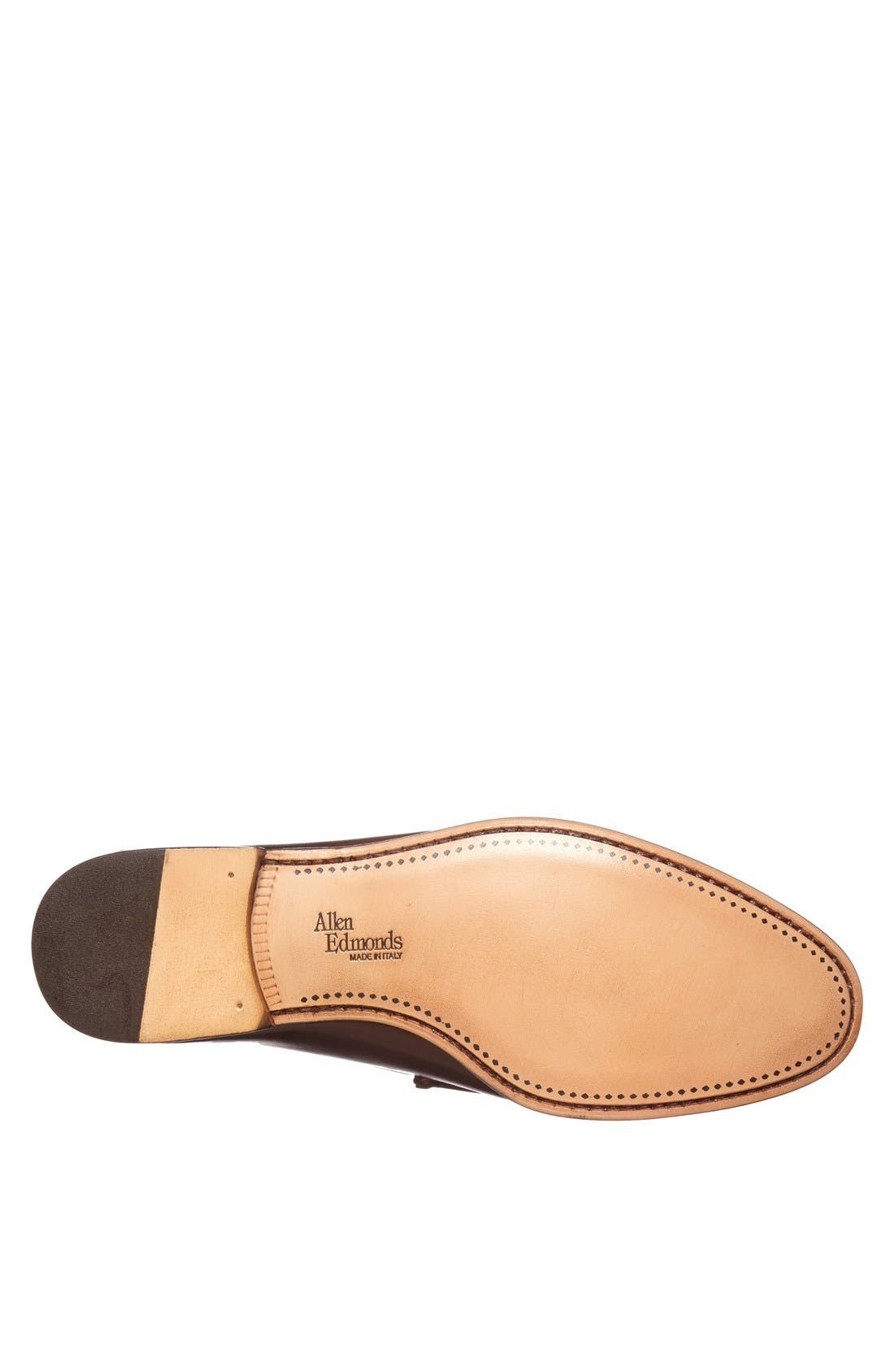 Verona II Bit Loafer,                             Alternate thumbnail 4, color,                             Brown/ Brown