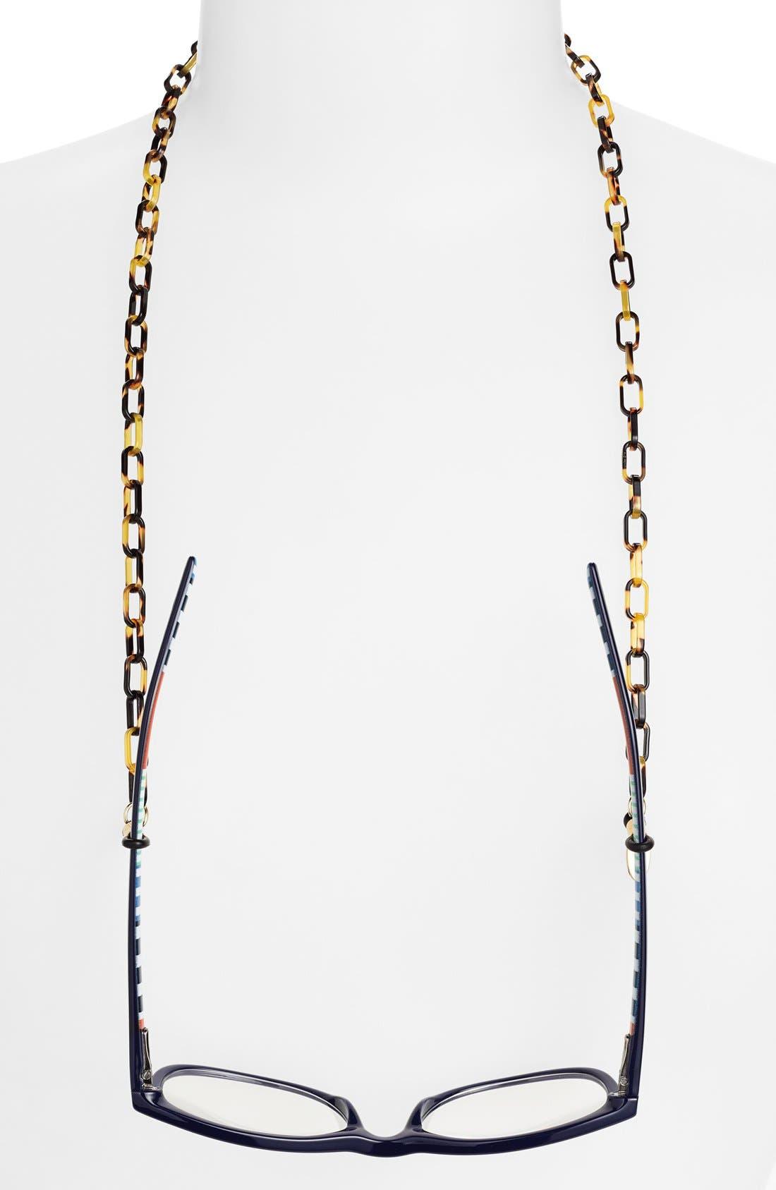 'Demi' Mini Oval Link Eyewear Chain,                             Main thumbnail 1, color,                             Tokyo