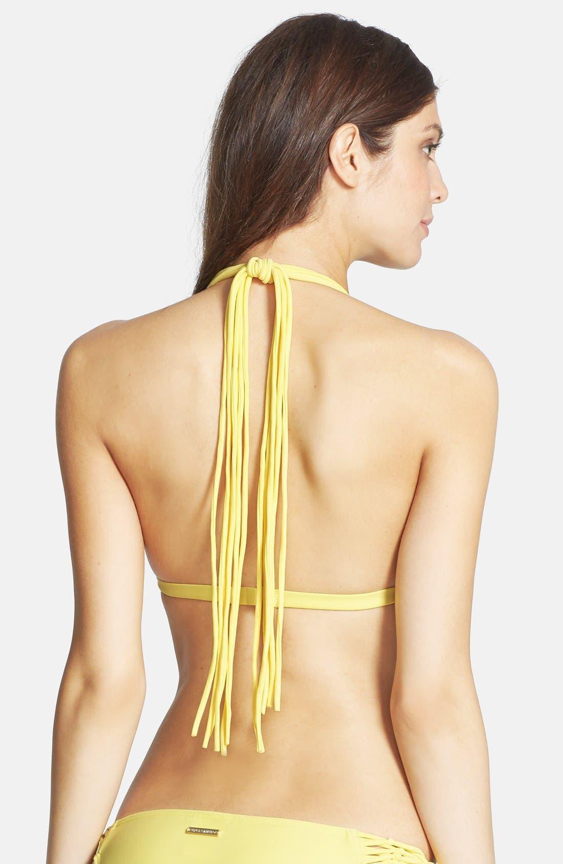 Alternate Image 2  - Vince Camuto 'Caribbean Sunset' Halter Bikini Top