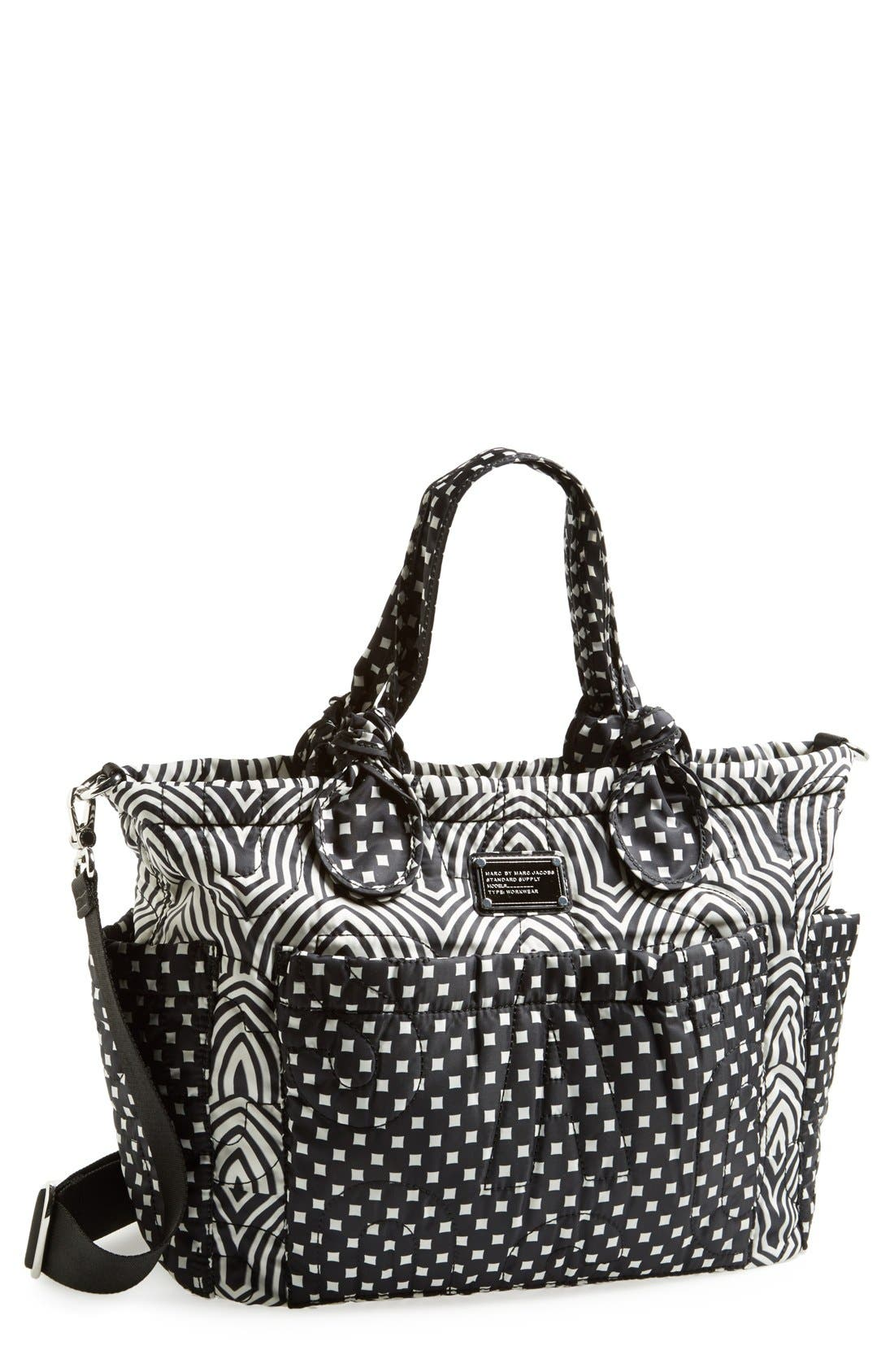 Alternate Image 1 Selected - MARC BY MARC JACOBS 'Pretty - Eliz-a-Baby' Diaper Bag