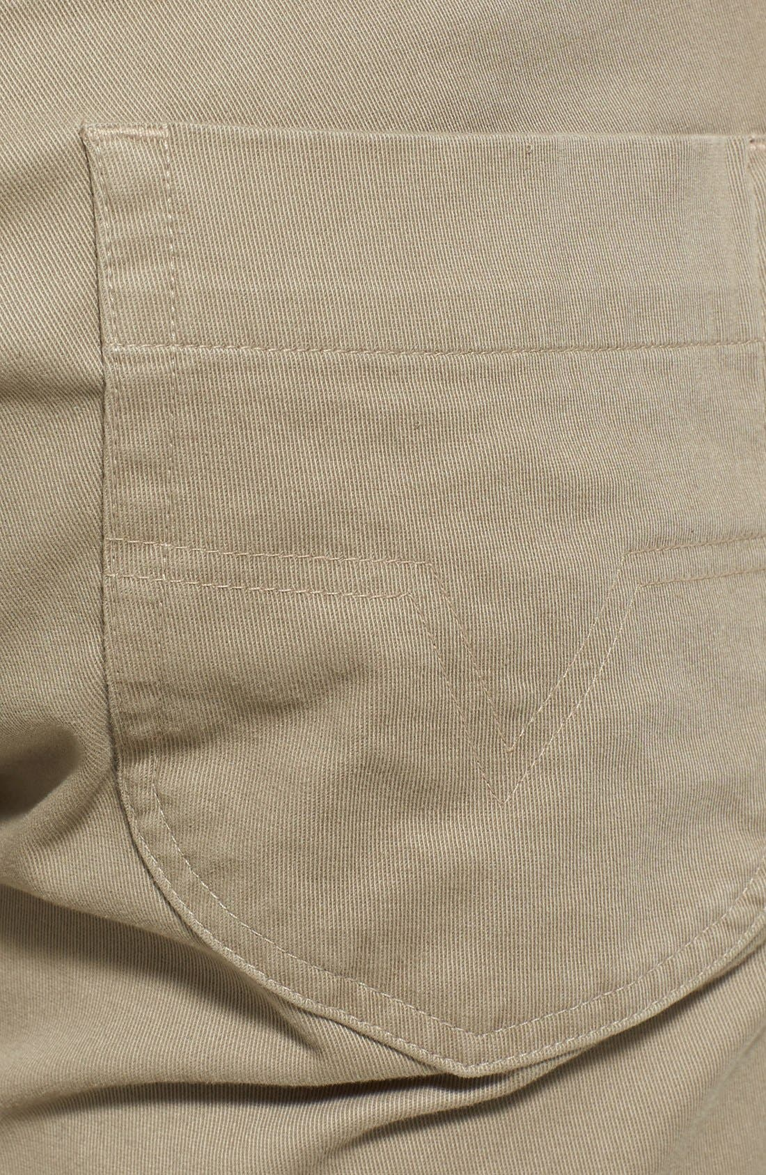Alternate Image 4  - Vince Five Pocket Stretch Cotton Straight Leg Pants