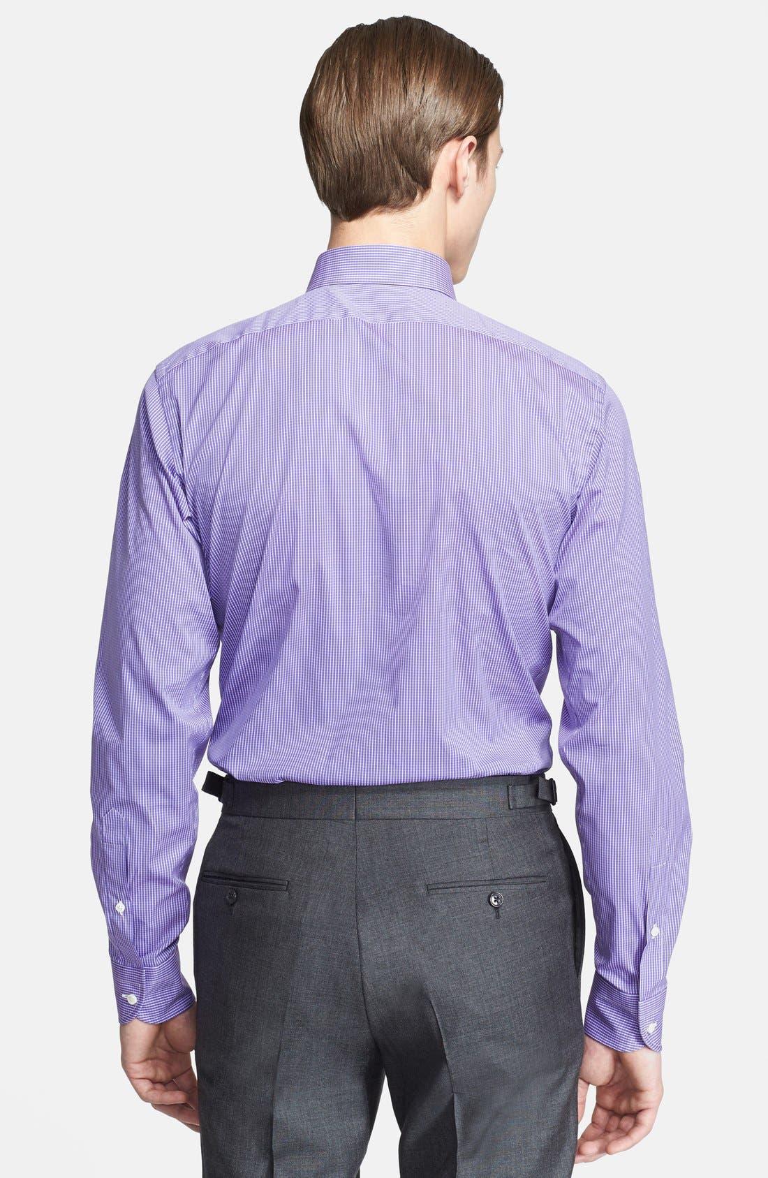 Alternate Image 3  - Ralph Lauren Black Label Trim Fit Stripe Dress Shirt