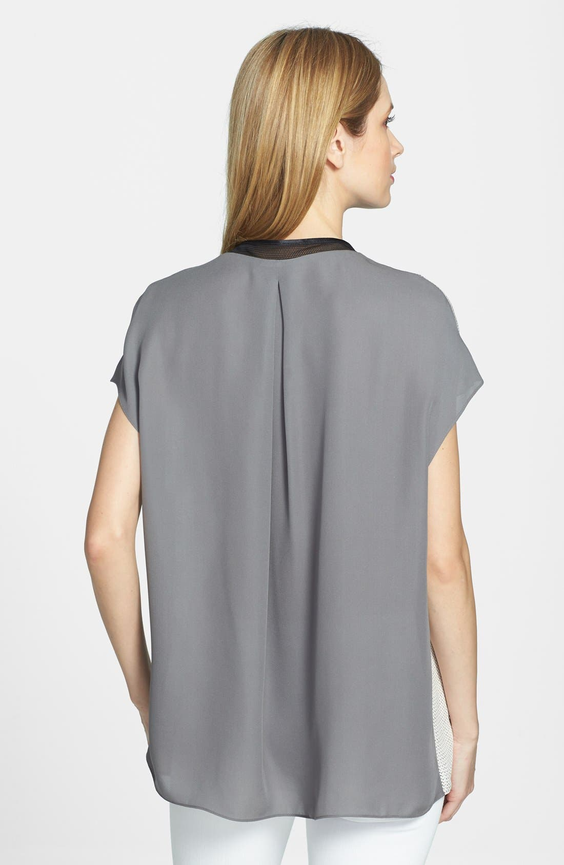 Alternate Image 2  - Elie Tahari 'Decklan' Silk Blouse