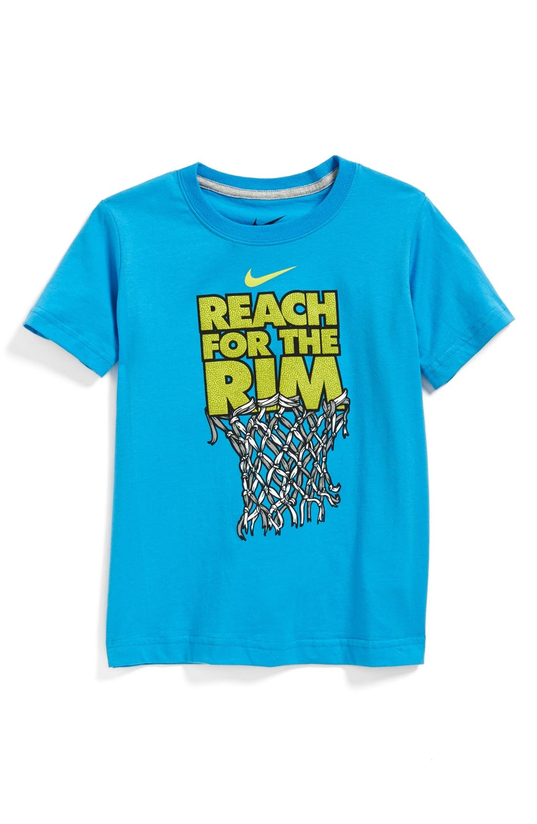 Alternate Image 1 Selected - Nike 'Reach for the Rim' Graphic T-Shirt (Little Boys)