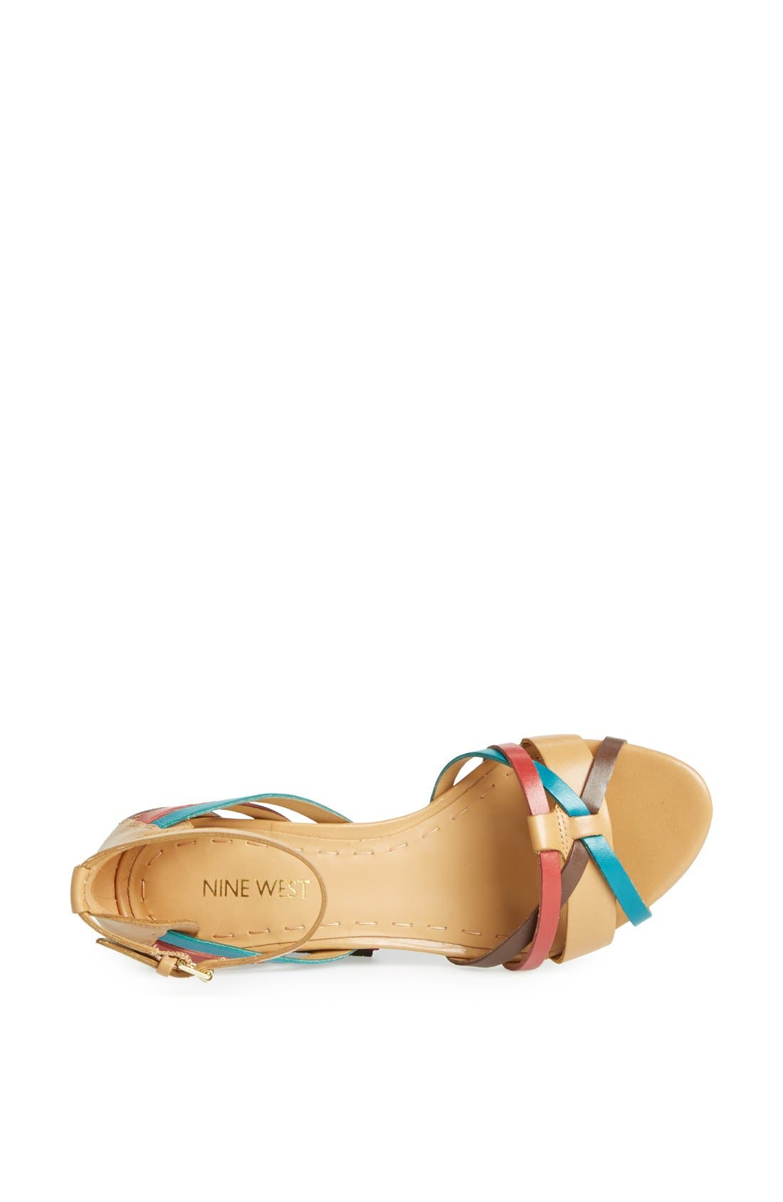 Alternate Image 3  - Nine West 'Villea' Ankle Strap Wedge Sandal