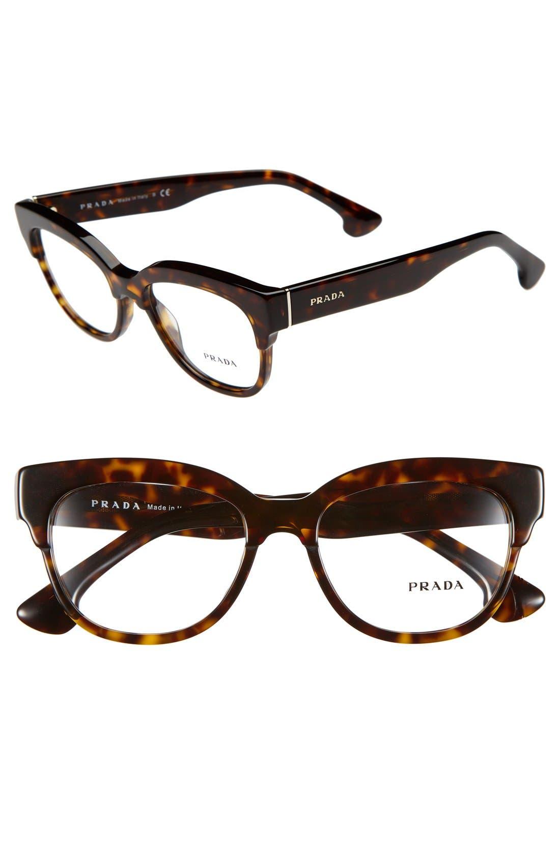 Main Image - Prada 51mm Optical Glasses (Online Only)