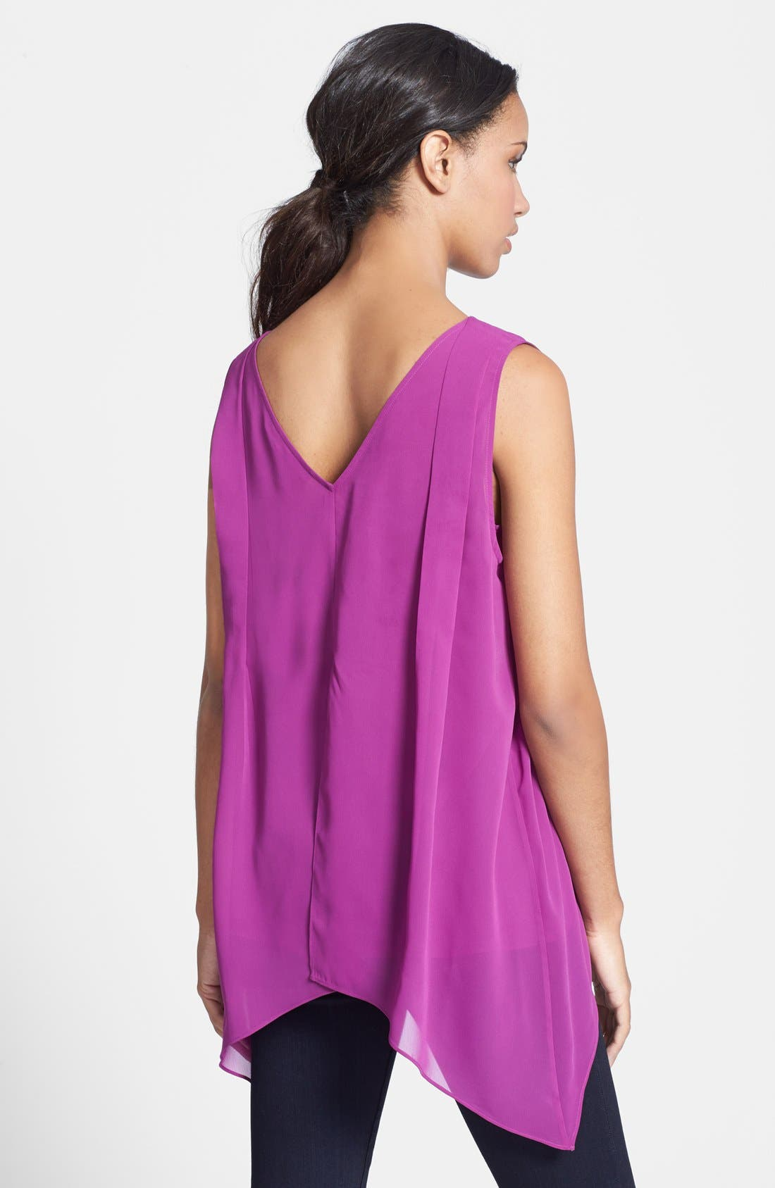 Alternate Image 2  - Kenneth Cole New York 'Madison' Sleeveless Blouse