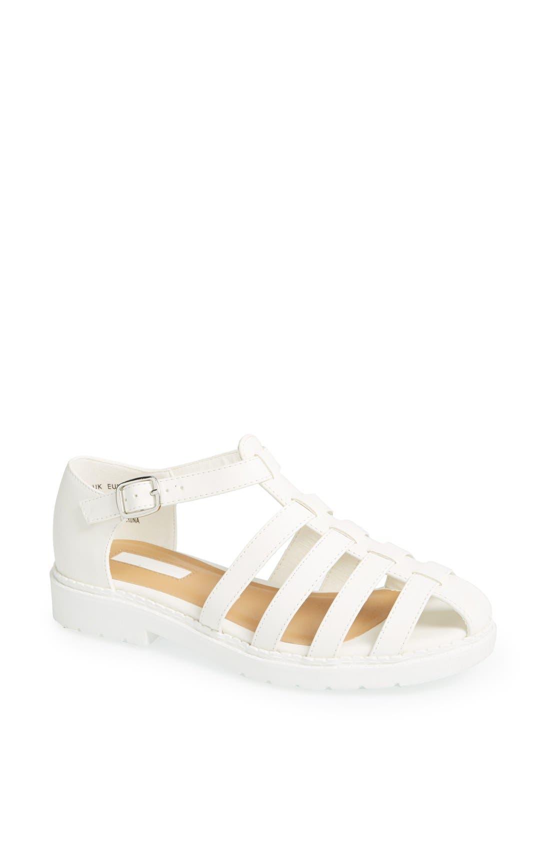 Alternate Image 1 Selected - Topshop 'Florence' Sandal