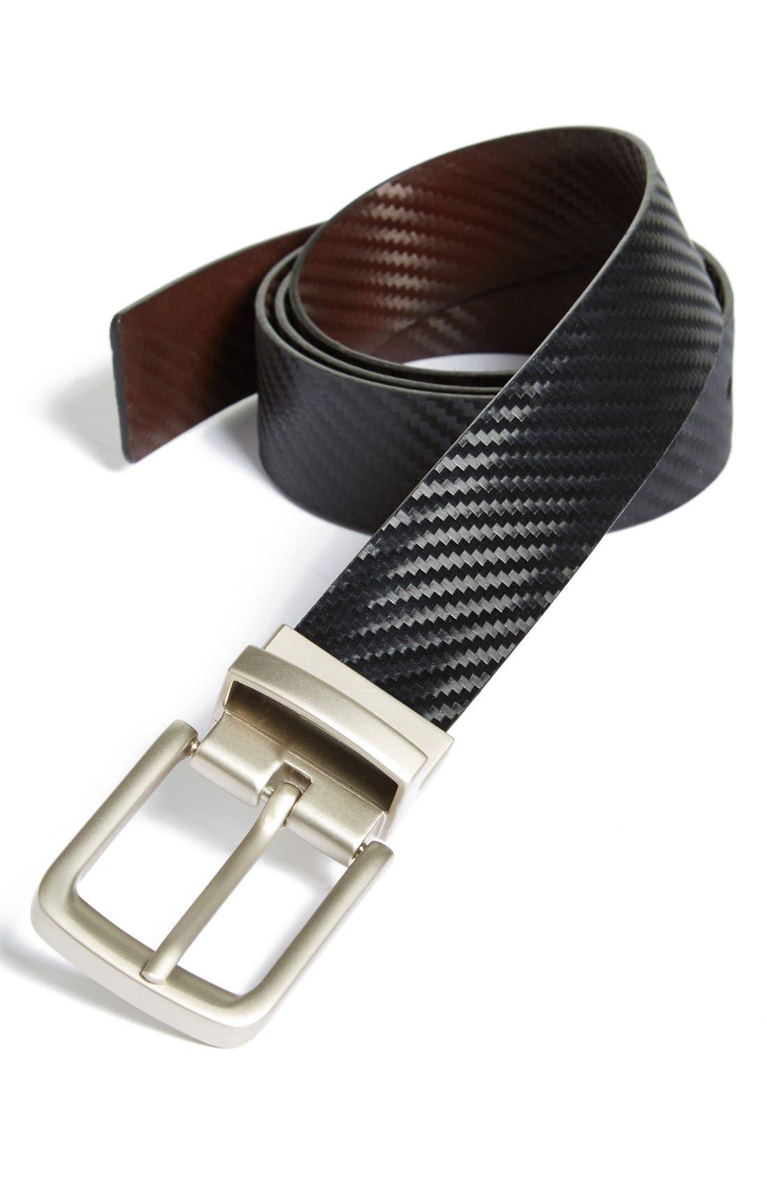 Alternate Image 1 Selected - Nordstrom Reversible Woven Belt