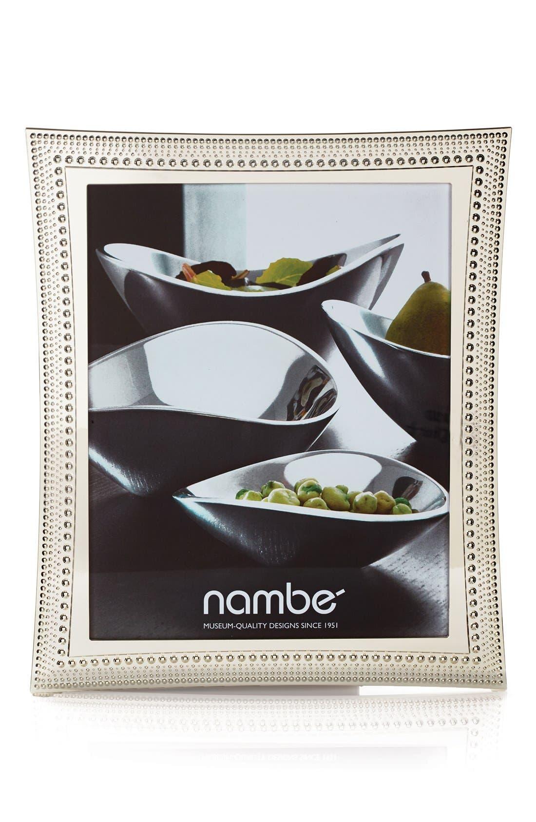 Main Image - Nambé Beaded Picture Frame