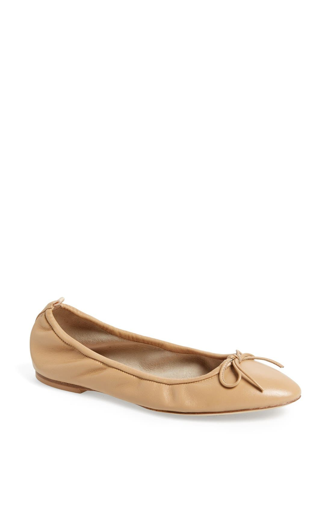 Alternate Image 1 Selected - SJP by Sarah Jessica Parker by Sarah Jessica Parker 'Gelsey' Nappa Leather Skimmer Flat
