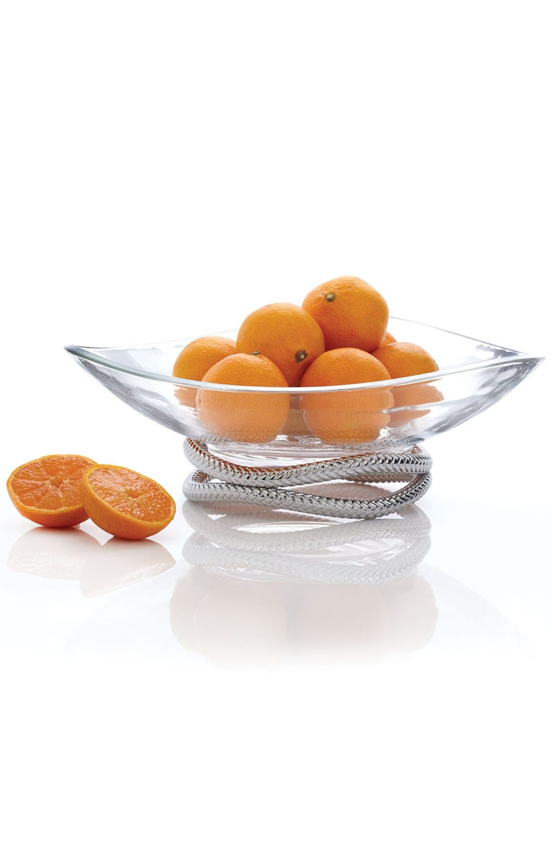 Alternate Image 2  - Nambé 'Braid' Centerpiece Bowl