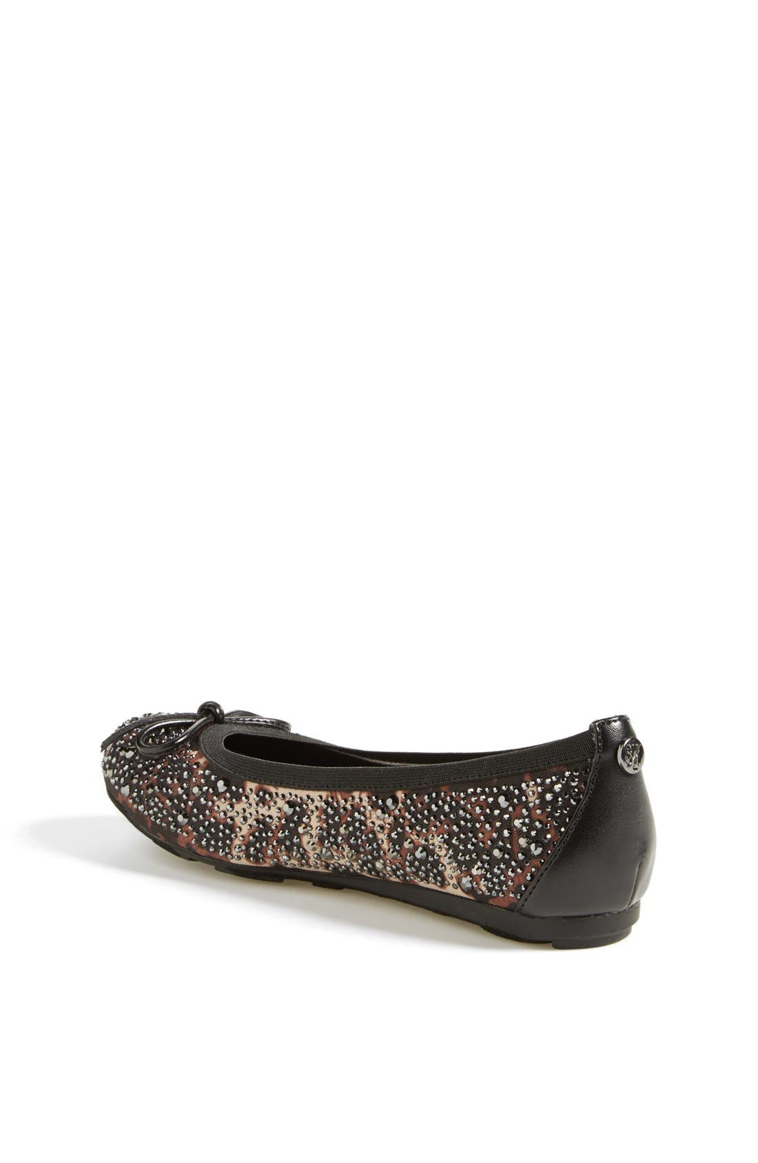 Alternate Image 2  - Stuart Weitzman 'Fannie Crystal' Flat (Online Only) (Little Kid & Big Kid)