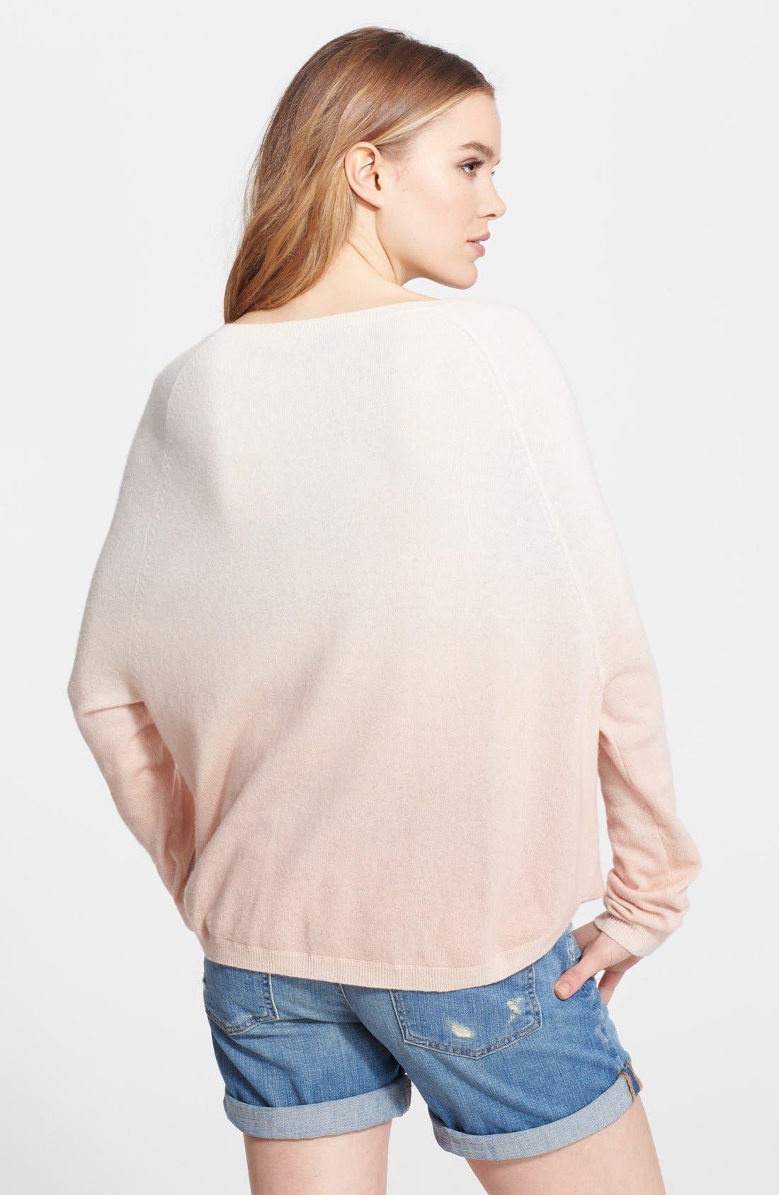 Alternate Image 2  - Vince Dip Dye Raglan Sleeve Sweater