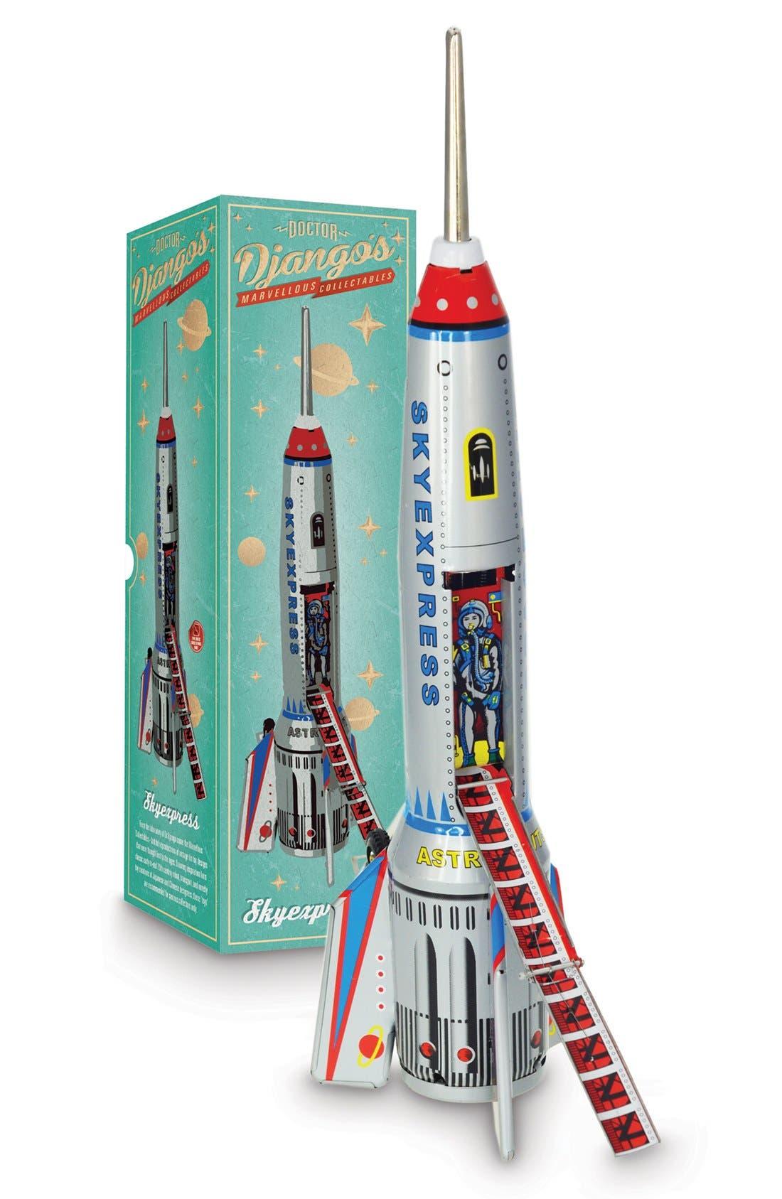 Alternate Image 2  - Sunnylife 'Dr. Django's Sky Express' Collectible Tin Rocket