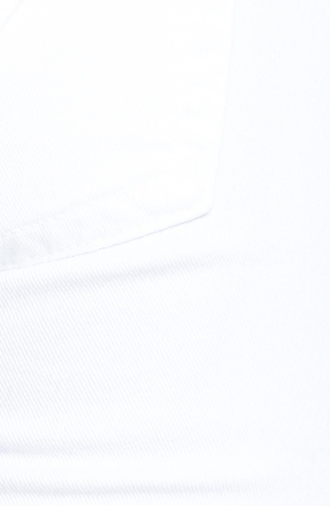 Alternate Image 3  - Hudson Jeans Signature Flap Pocket Bootcut Stretch Jeans (White)