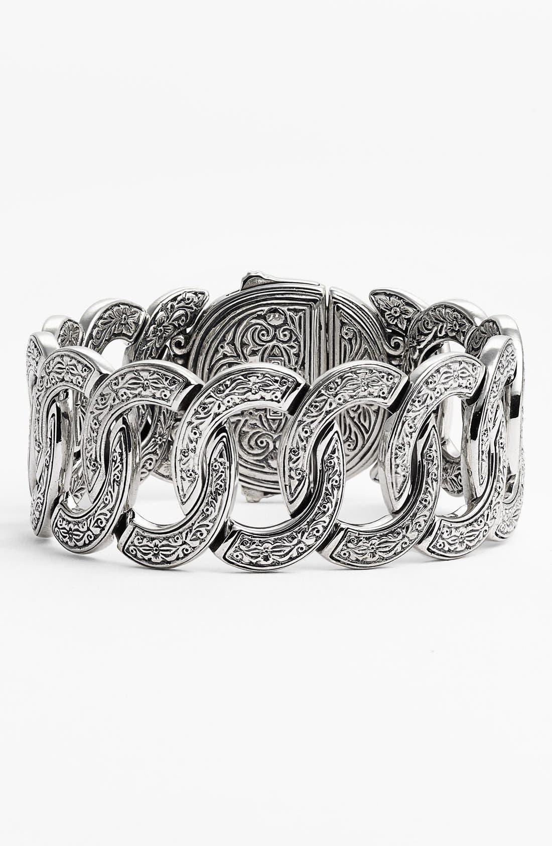 'Classics' Link Bracelet,                         Main,                         color, Silver/ Gold