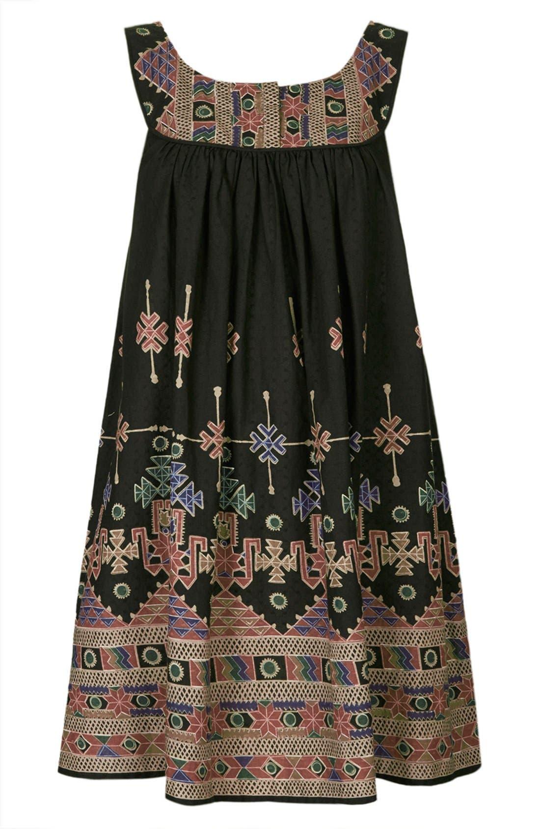 Alternate Image 3  - Kate Moss for Topshop Aztec Print Sundress