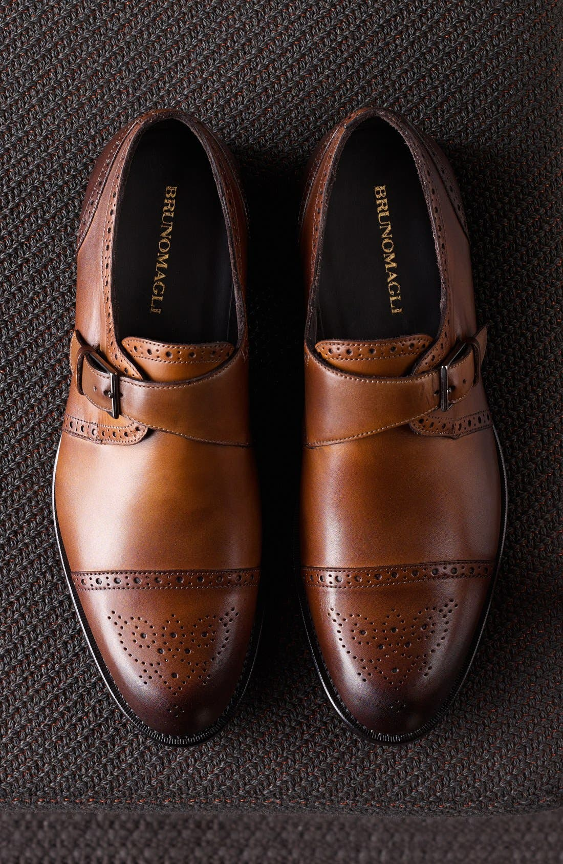 Alternate Image 5  - Bruno Magli 'Rovani' Monk Shoe