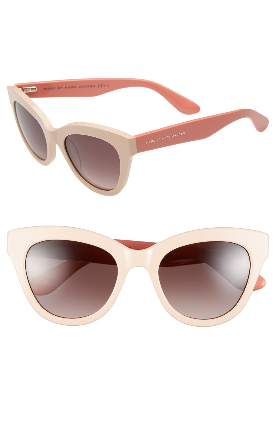 Main Image - MARC BY MARC JACOBS Retro 51mm Sunglasses