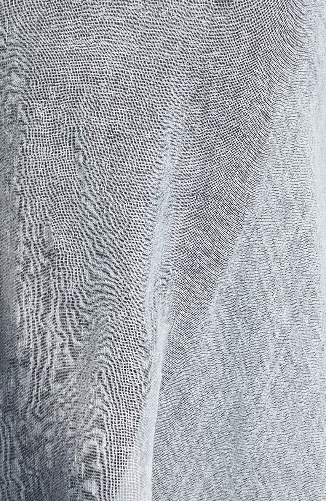 Alternate Image 2  - Eileen Fisher Linen Scarf