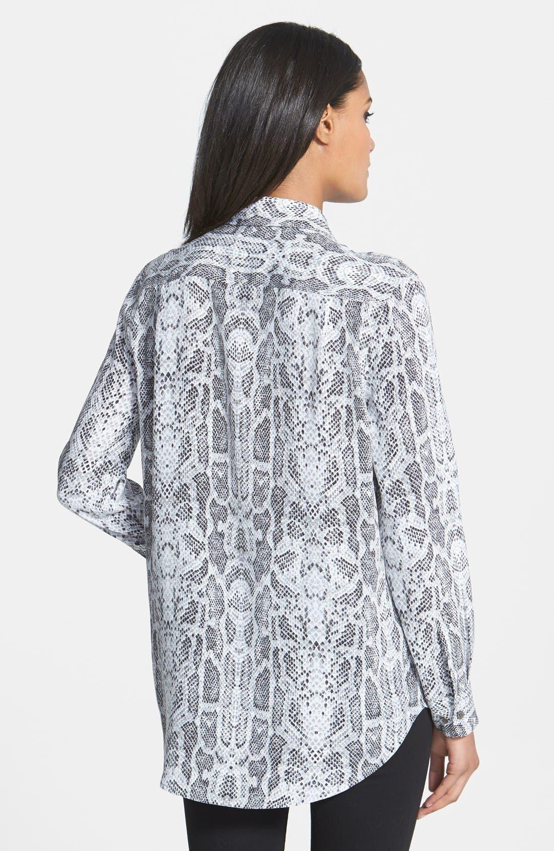 Alternate Image 2  - Equipment 'Reese' Print Silk Shirt