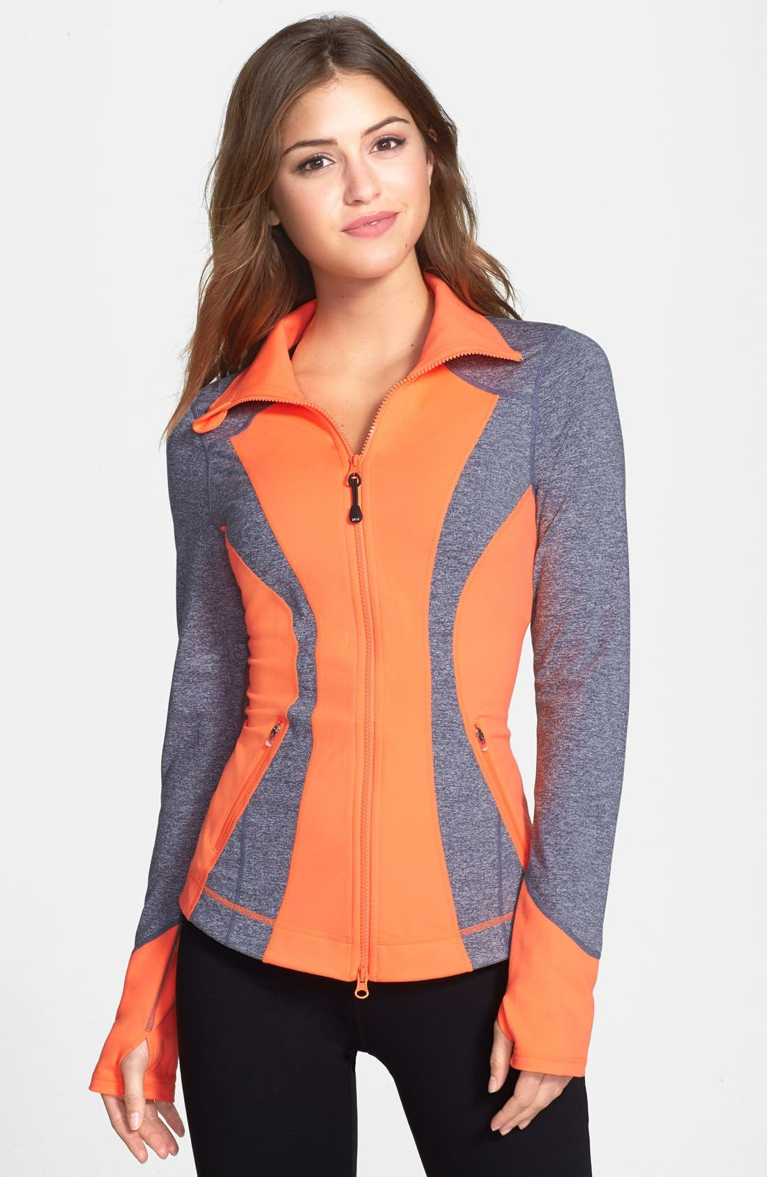 Main Image - Zella 'Seasons' Mélange Jacket