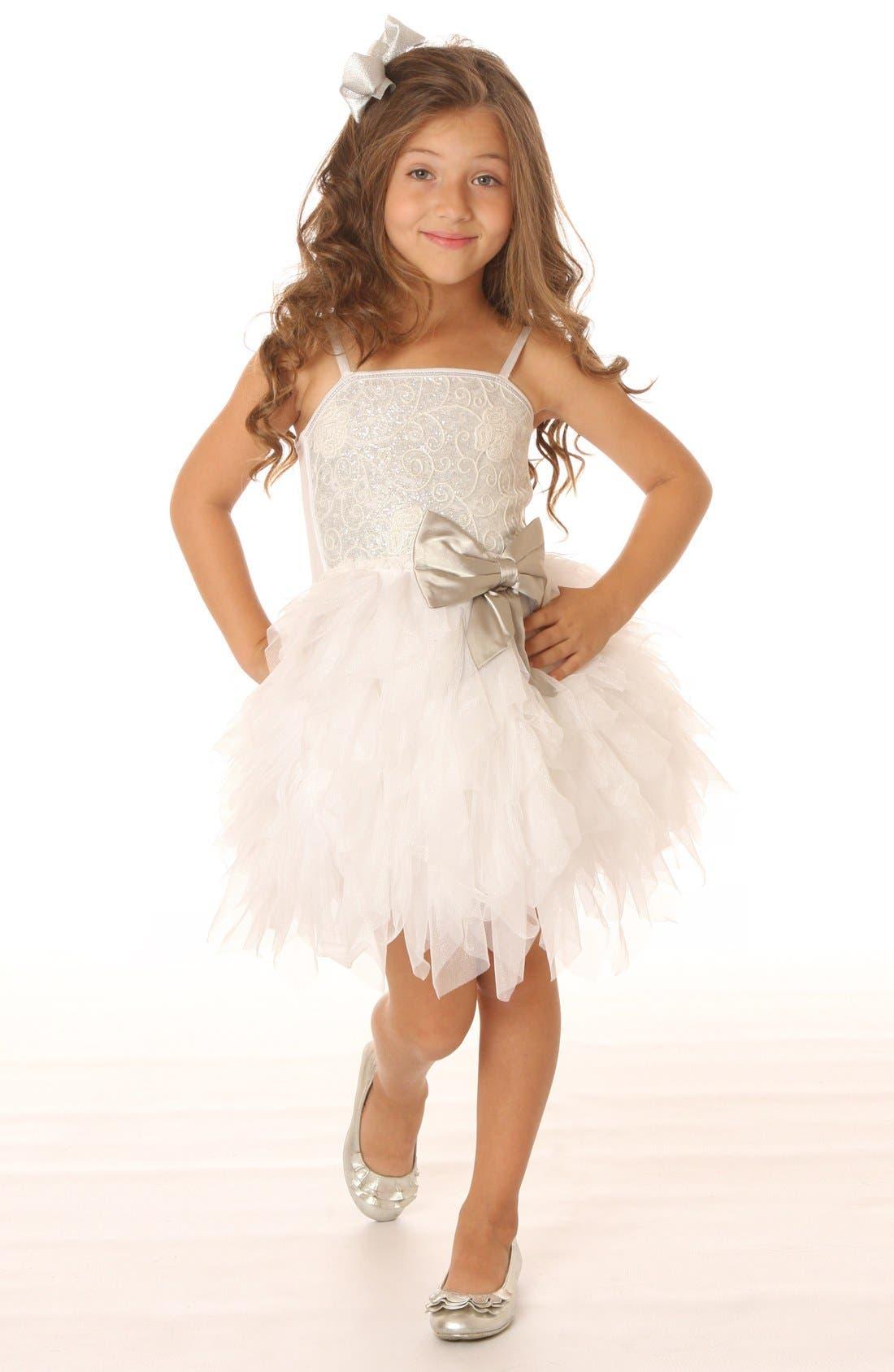 Alternate Image 3  - Ooh! La, La! Couture 'Emma' Dress (Little Girls & Big Girls)