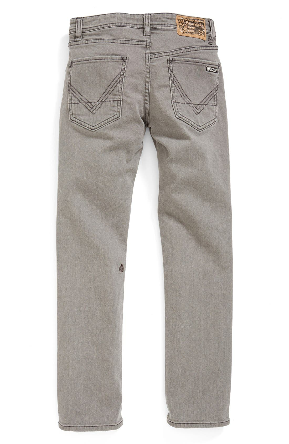 Main Image - Volcom 'Vorta' Slim Fit Jeans (Big Boys)