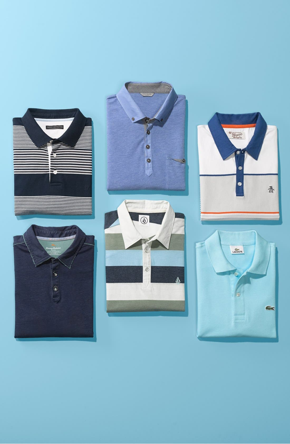 Alternate Image 4  - Volcom 'Paco' Stripe Jersey Polo