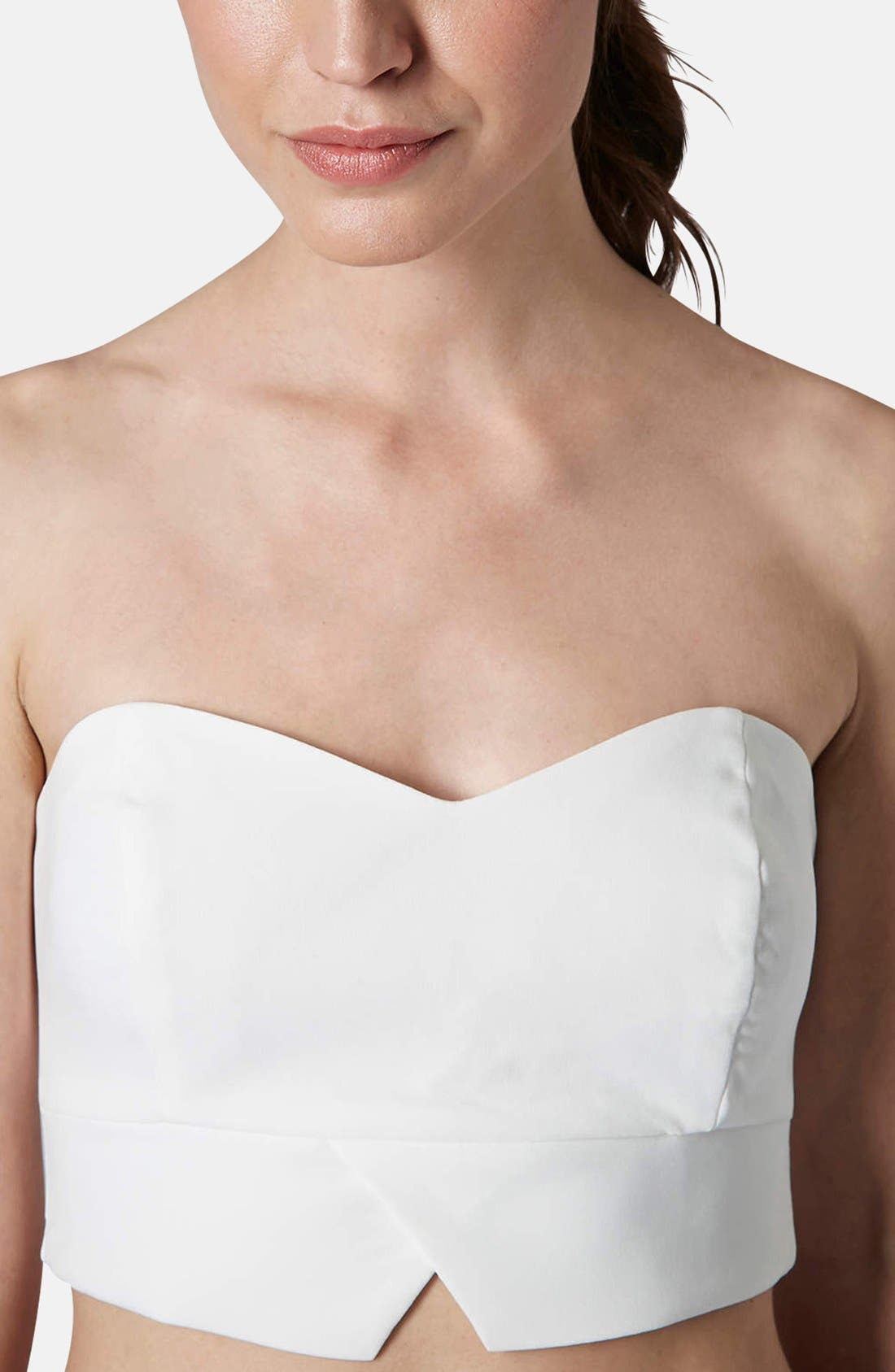Alternate Image 3  - Topshop Notch Hem Bandeau