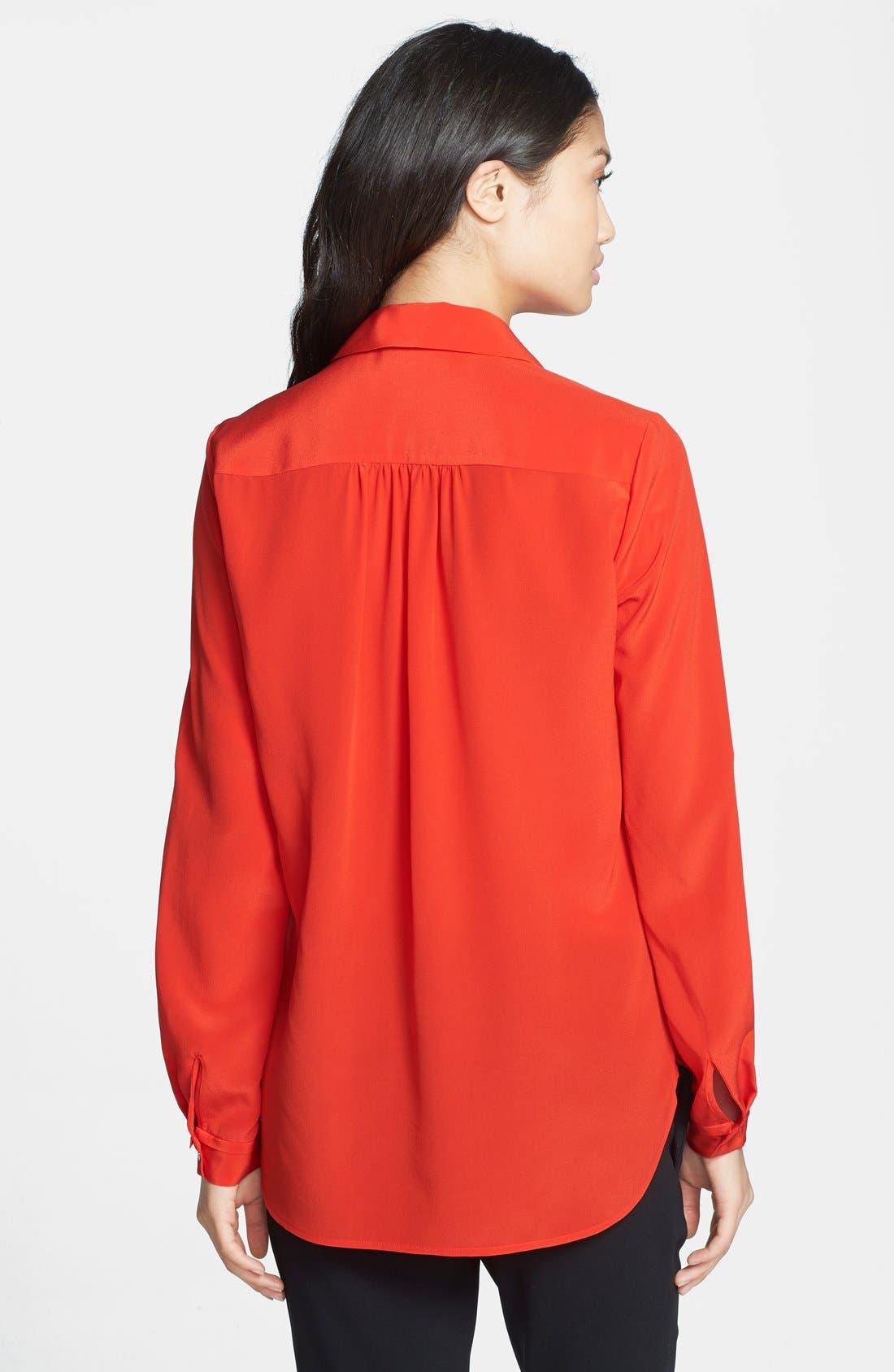 Alternate Image 2  - Diane von Furstenberg 'Lorelei 2' Silk Shirt