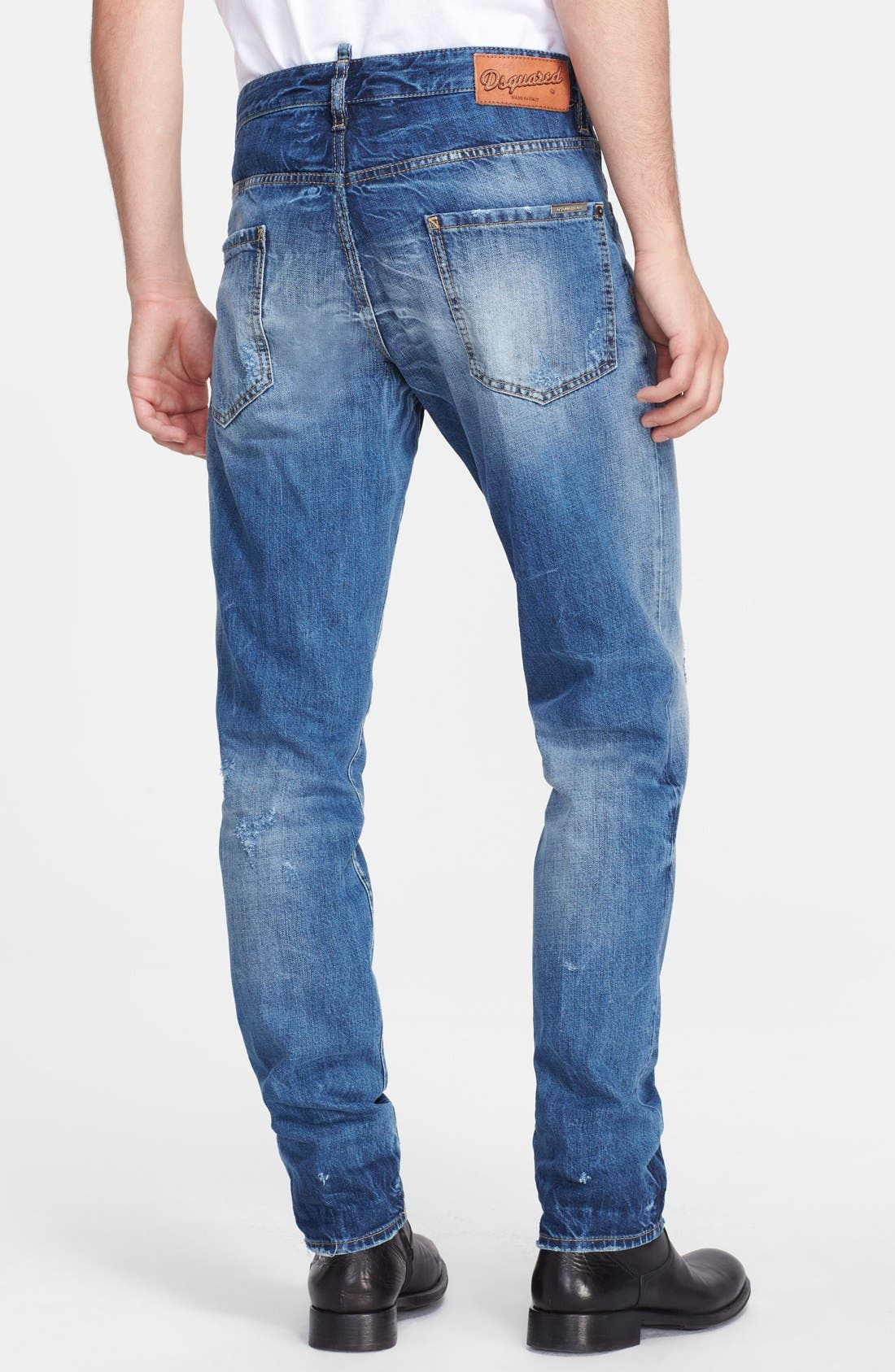'Cool Guy' Skinny Fit Jeans,                             Alternate thumbnail 2, color,                             Blue