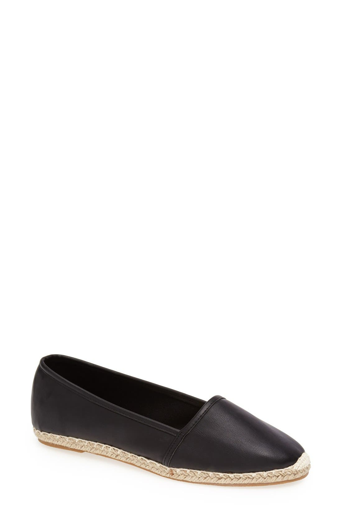 Alternate Image 1 Selected - Topshop 'Tallulah' Espadrille Flat